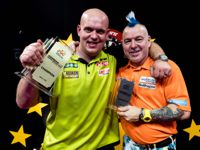 Michael van Gerwen besiegte Peter Wright im Finale des German Darts Grand Prix 2018 mit 8:5