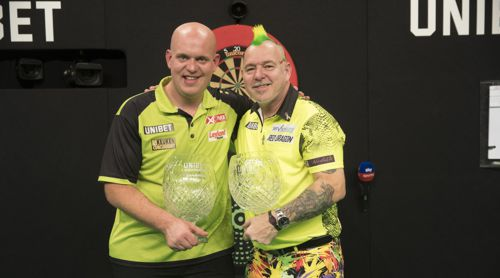 Michael van Gerwen und Peter Wright World Grand Prix 2018