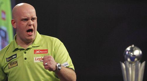 Michael van Gerwen möchte die Sid Waddell Trophy verteidigen