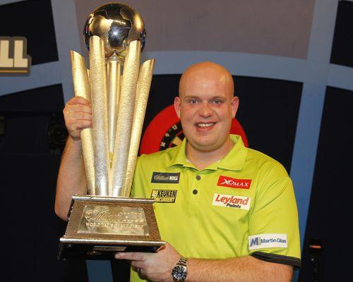 Michael van Gerwen Darts Weltmeister