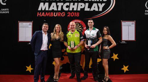 Michael van Gerwen besiegte William O'Connor im Finale des European Matchplay