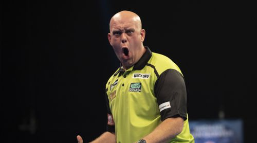 Michael van Gerwen zurück auf der Spur des Siegers