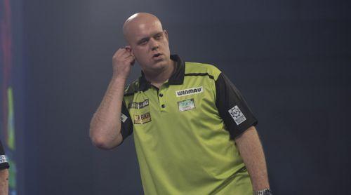 Michael van Gerwen ratlos und traurig