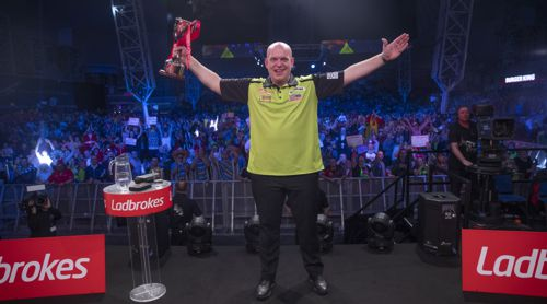 Michael van Gerwen gewinnt UK Open 2020