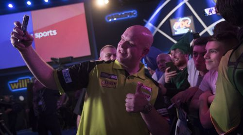 Michael van Gerwen Darts-WM 2019