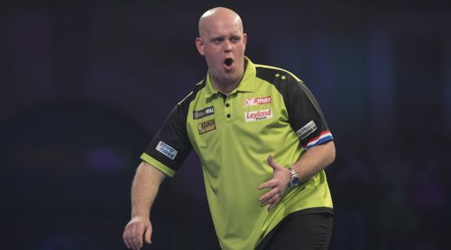 Darts Weltmeisterschaft Michael van Gerwen