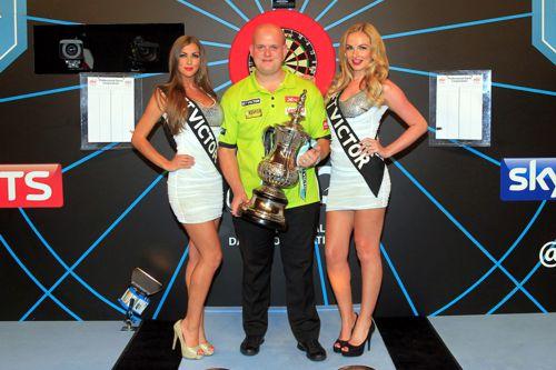Michael van Gerwen gewinnt das World Matchplay 2015