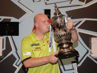 Michael van Gerwen World Matchplay Trophy
