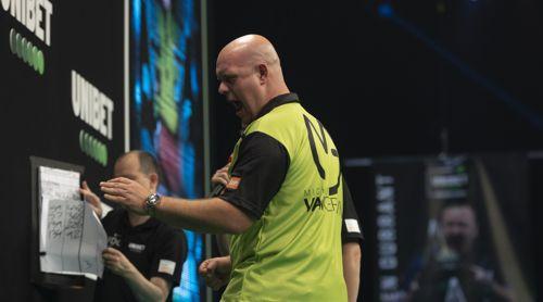 Michael van Gerwen begeistert ob seines Sieges