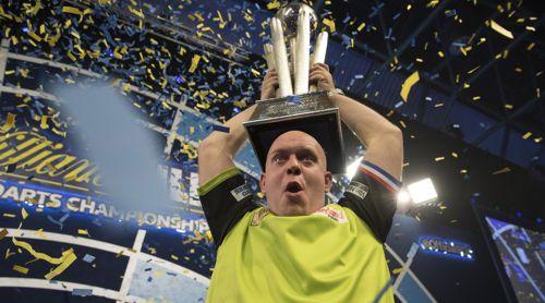 Michael van Gerwen besiegte Michael Smith im Finale der Darts WM 2019 mit 7:3 und gewinnt den Titel damit zum dritten Mal nach 2014 und 2017