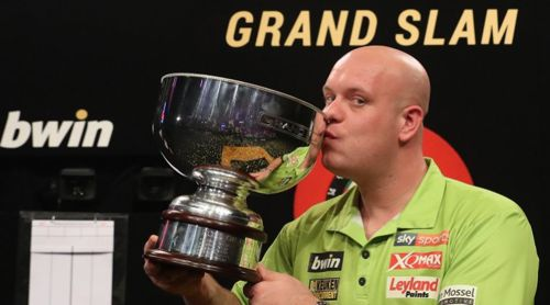 Michael van Gerwen gewinnt den Grand Slam of Darts