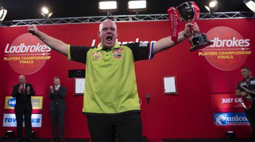 Michael van Gerwen Players Championship Finals Sieger 2019