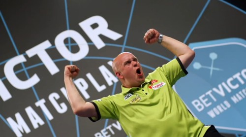 Michael van Gerwen und das World Matchplay Darts Turnier