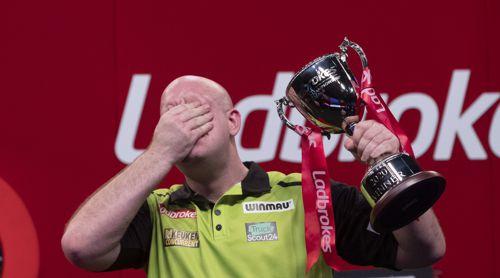 Van Gerwen holt die Players Championship Finals zum sechsten Mal
