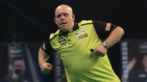 Michael van Gerwen auf dem Weg an die Spitze