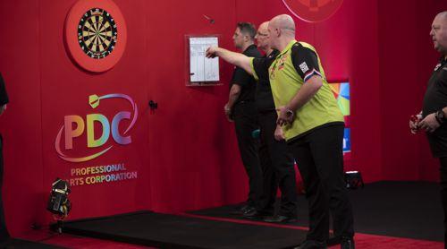Michael van Gerwen wirft Mervyn King aus dem Turnier