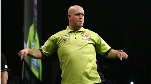 Michael van Gerwen besiegt Peter Wright beinahe mit einem Whitewash
