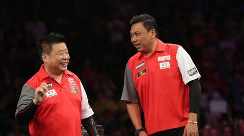 Paul Lim und Harith Lim