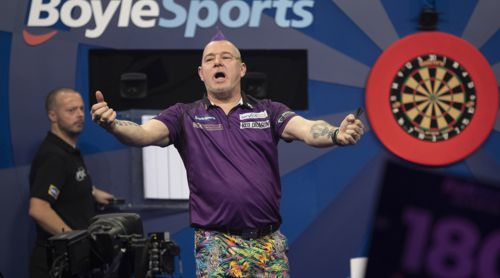 Peter Wright high quality picture