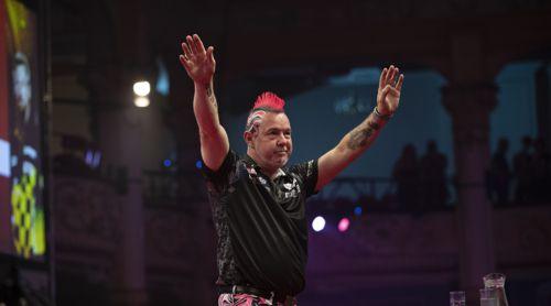 Peter Wright Dartspieler ist 2019 in der Form seines Lebens