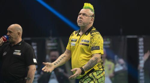 Peter Wright liebt sein gelbes Kostüm