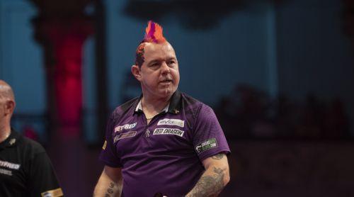 Peter Wright zeigte beim World Matchplay eine starke Leistung