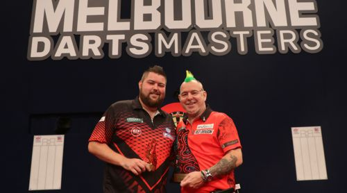 Peter Wright besiegte Michael Smith im Finale der Melbourne Darts Masters