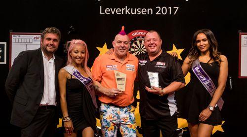 Peter Wright gewinnt die European Darts Open 2017 in Leverkusen