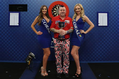 Peter Wright gewinnt die UK Open 2017