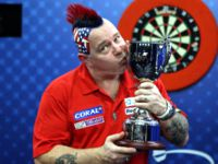 Coral UK Open-Sieger Peter Wright