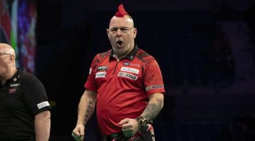 Weltmeister Peter Wright in der Premier League