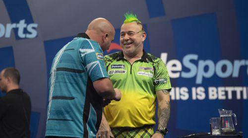Peter Wright deklassiert Rob Cross