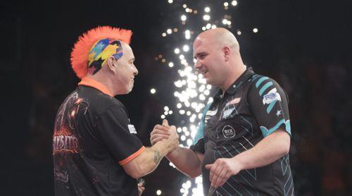 Peter Wright und Rob Cross trennten sich unentschieden