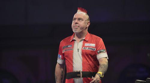 Peter Wright, der traurige Weihnachtsmann