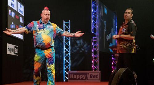 Peter Wright gewinnt die International Darts Open