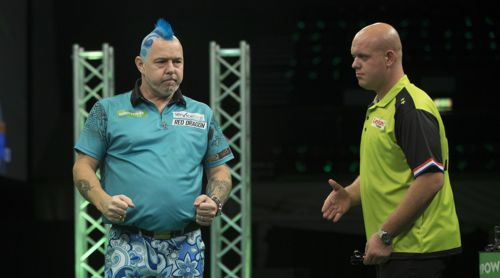 Peter Wright besiegt Michael van Gerwen abermals