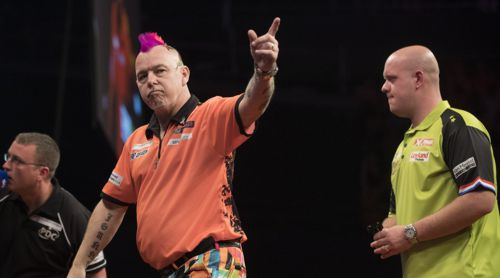 Peter Wright besiegte Michael van Gerwen - erneut