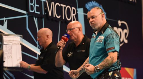Peter Wright zieht locker in das Viertelfinale des World Matchplay ein