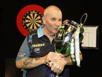 Phil Taylor gewann 2016 die Premiere der Champions League of Darts