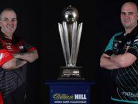 Phil Taylor und Rob Cross bestreiten das 25. Finale der PDC Dart WM