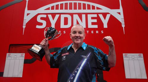 Sydney Darts Masters Phil Taylor