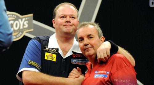 Raymond van Barneveld und Phil Taylor: Rivalen am Dartsboard