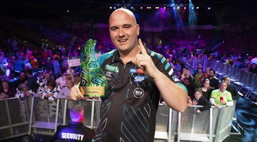 Rob Cross gewinnt die Brisbane Darts Masters