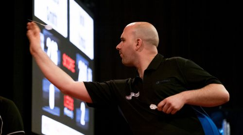 Rob Cross Dartspieler bei der Professional Darts Corporation