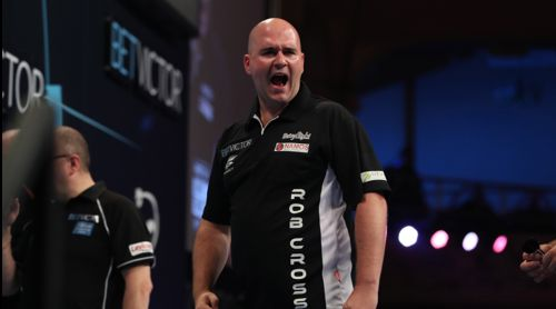 Rob Cross ist der Senkrechtstarter der Professional Darts Corporation
