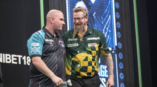 Rob Cross und Simon Whitlock trennen sich unentschieden