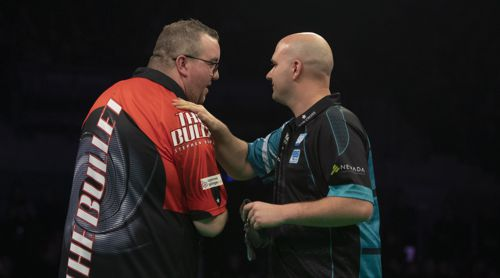 Rob Cross und Stephen Bunting Premier League