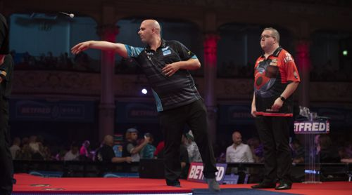 Rob Cross und Stephen Bunting