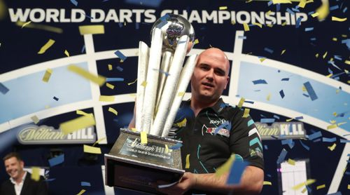 Darts Weltmeister Rob Cross