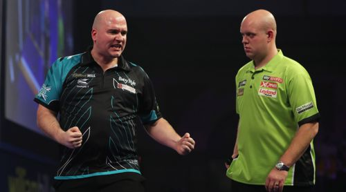 Rob Cross und Michael van Gerwen